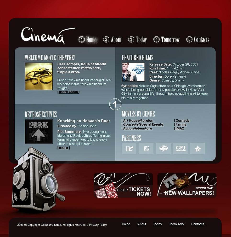 film template