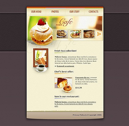 Website Template #10097