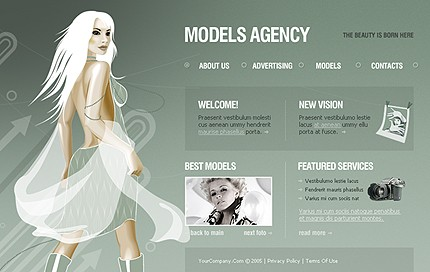 Website Template #10101