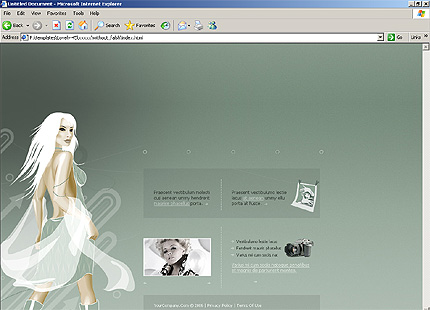 Website Template #10101