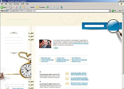 Website Template #10575