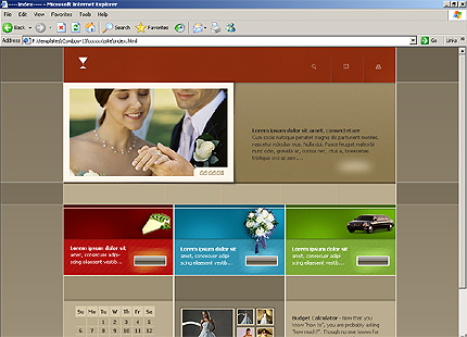 Website Template #10631