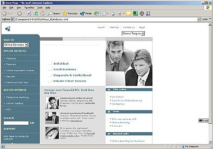 Website Template #10896