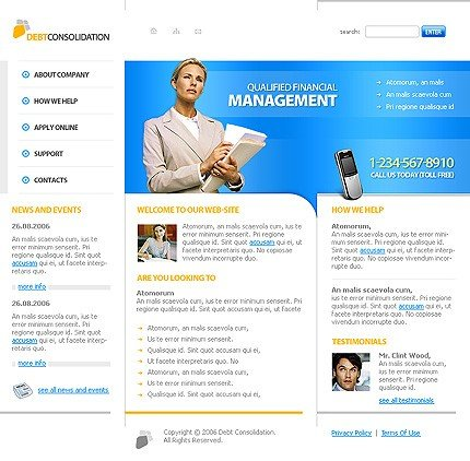 Website Template #10945