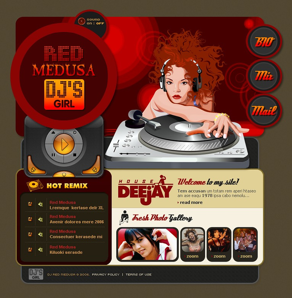 DJ Flash Template New Screenshots BIG