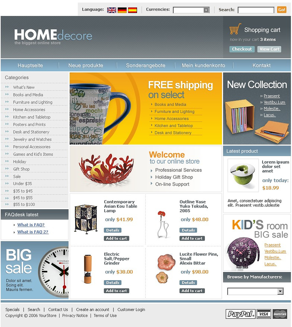 Home Decor CRE Loaded Template New Screenshots BIG