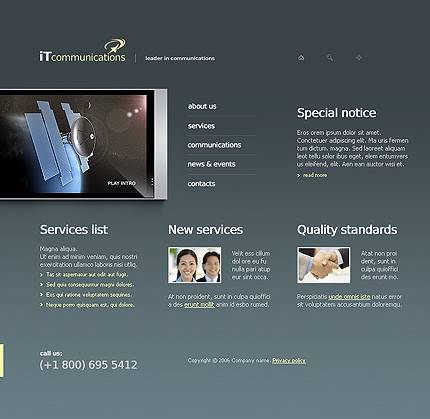 Website Template #11223