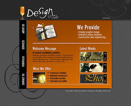 Website Template #11300