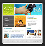 Website template #11376 by Di