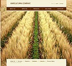 Template #11412  Keywords: agriculture company business grain-crops cereals field combine harvest farming plants services products solutions market delivery resource grassland equipment nitrates fertilizer clients partners innovations support information dealer stocks team combine