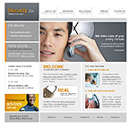 Website template #11434 by Di