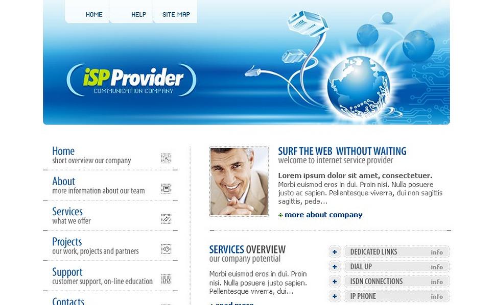ISP PhpBB Template New Screenshots BIG