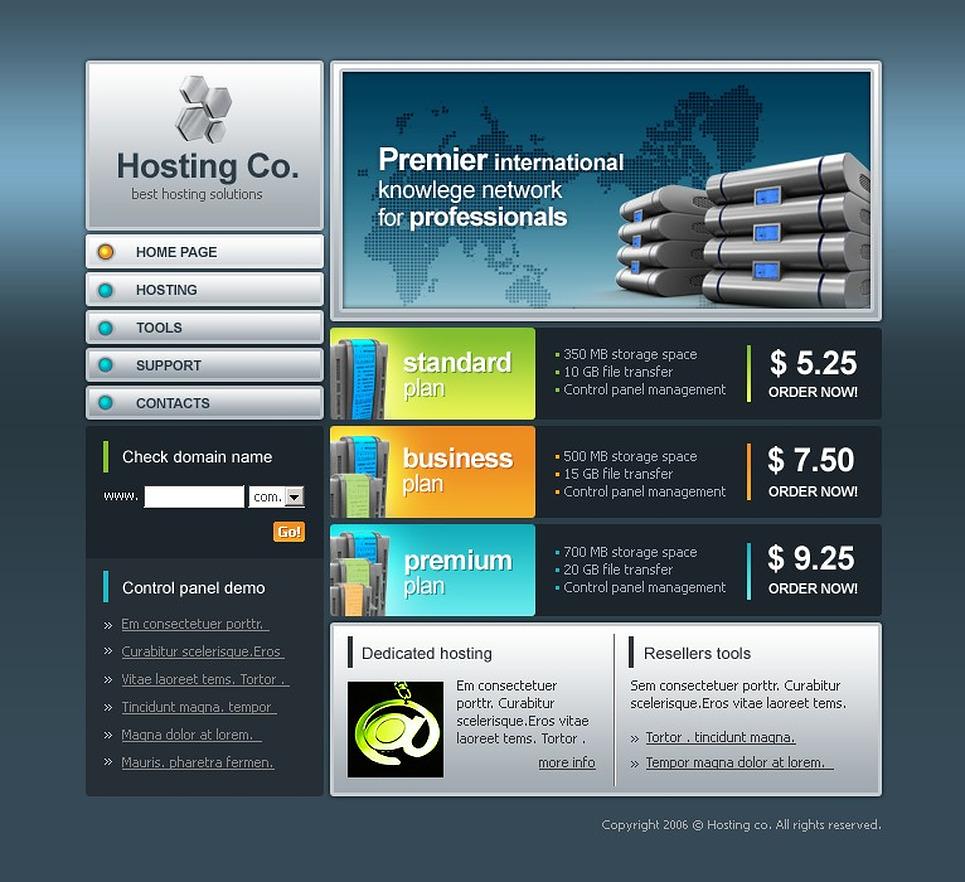 Покупка хостинга для игрового сервера создание сайтов kr.ua