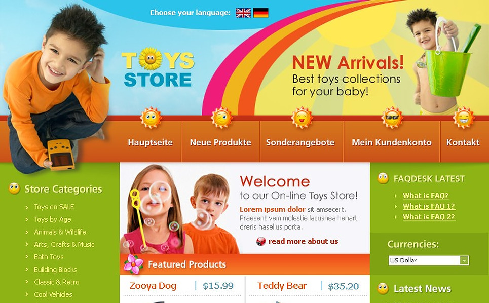 Toy Store CRE Loaded Template New Screenshots BIG