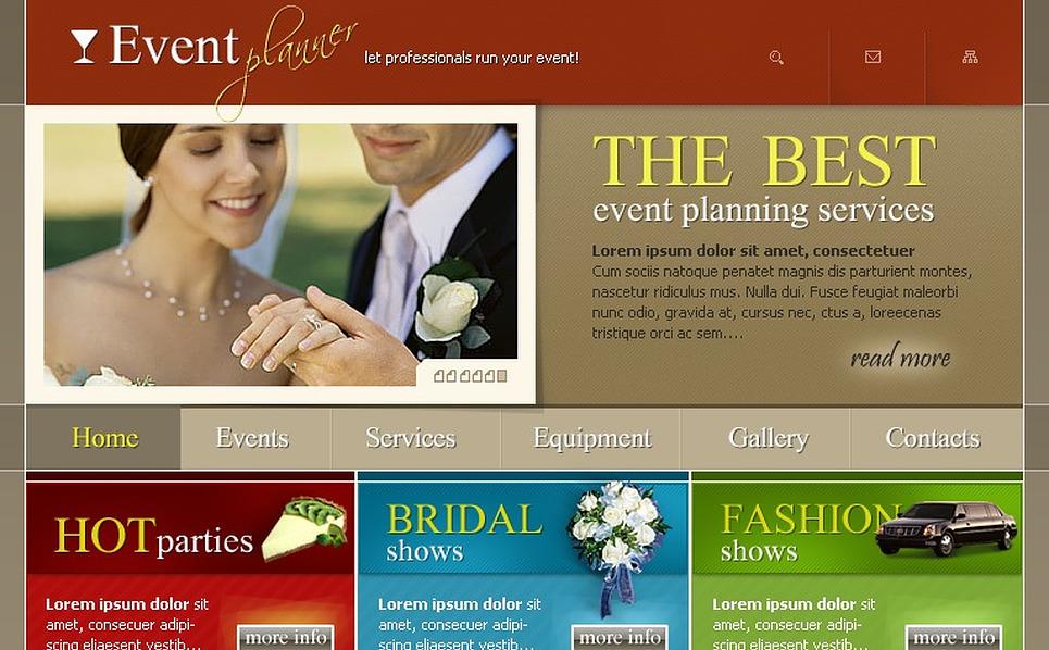 Event Planner SWiSH Template New Screenshots BIG