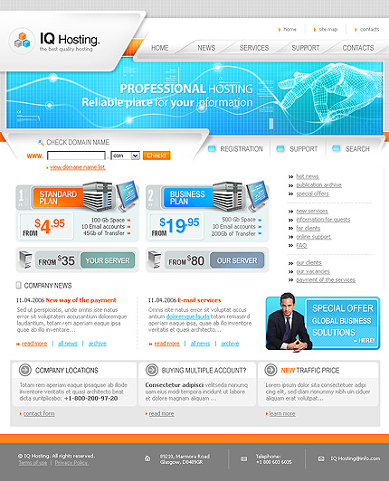 Website Template #11698