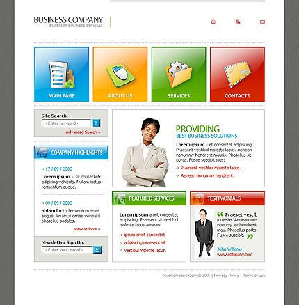 Website Template #11999