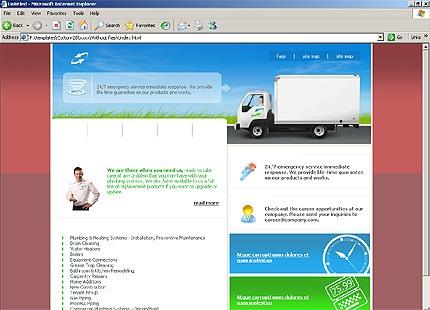 Website Template #12023