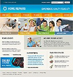Website template #12142 by Cowboy
