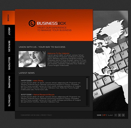 Website Template #12164