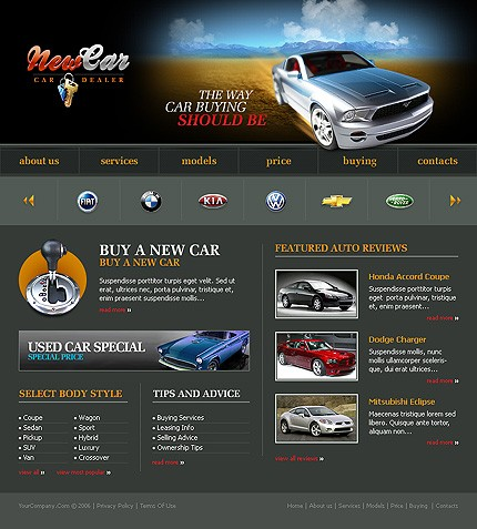 Website Template #12245