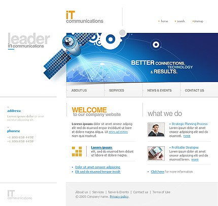 Website Template #12269