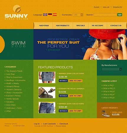 Apparel cre loaded template new screenshots big
