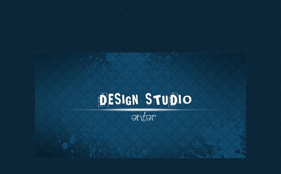 Design Studio Flash Intro Template New Screenshots BIG