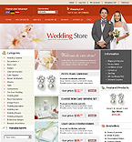 Template #12632  Keywords: wedding store shopping cart  album page photos gallery history first dating engagement ceremony rings flowers family baby friends happiness love heart couple partners veil success lover sweetheart honey moon marriage husband wife information guestbook