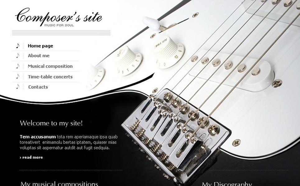 Music Flash Template New Screenshots BIG