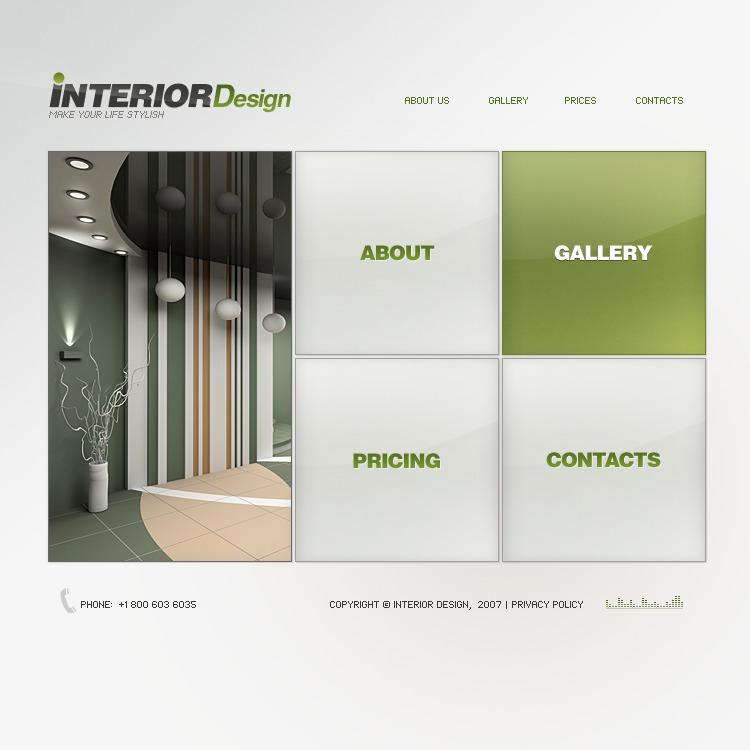 Дизайн флэш сайта