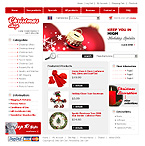 Template #13206  Keywords: gifts shop store christmas holiday santa claus fir tree toys games ties snowmen baskets candle accessory books cards clothes socks apparel electronic flower jewelry watch animal frames delivery decoration congratulation joy collection holographic train