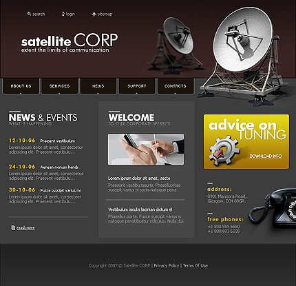 Website Template #13399