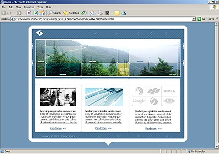 Templates for microsoft expression 4 radek for Microsoft expressions templates