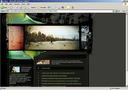 Website Template #13590
