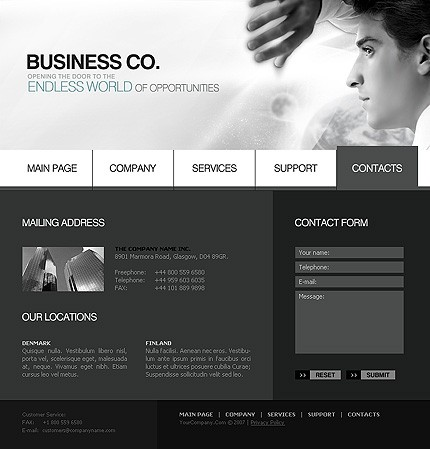 Website Template #13664