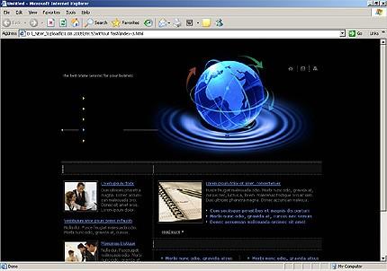 Website Template #13751