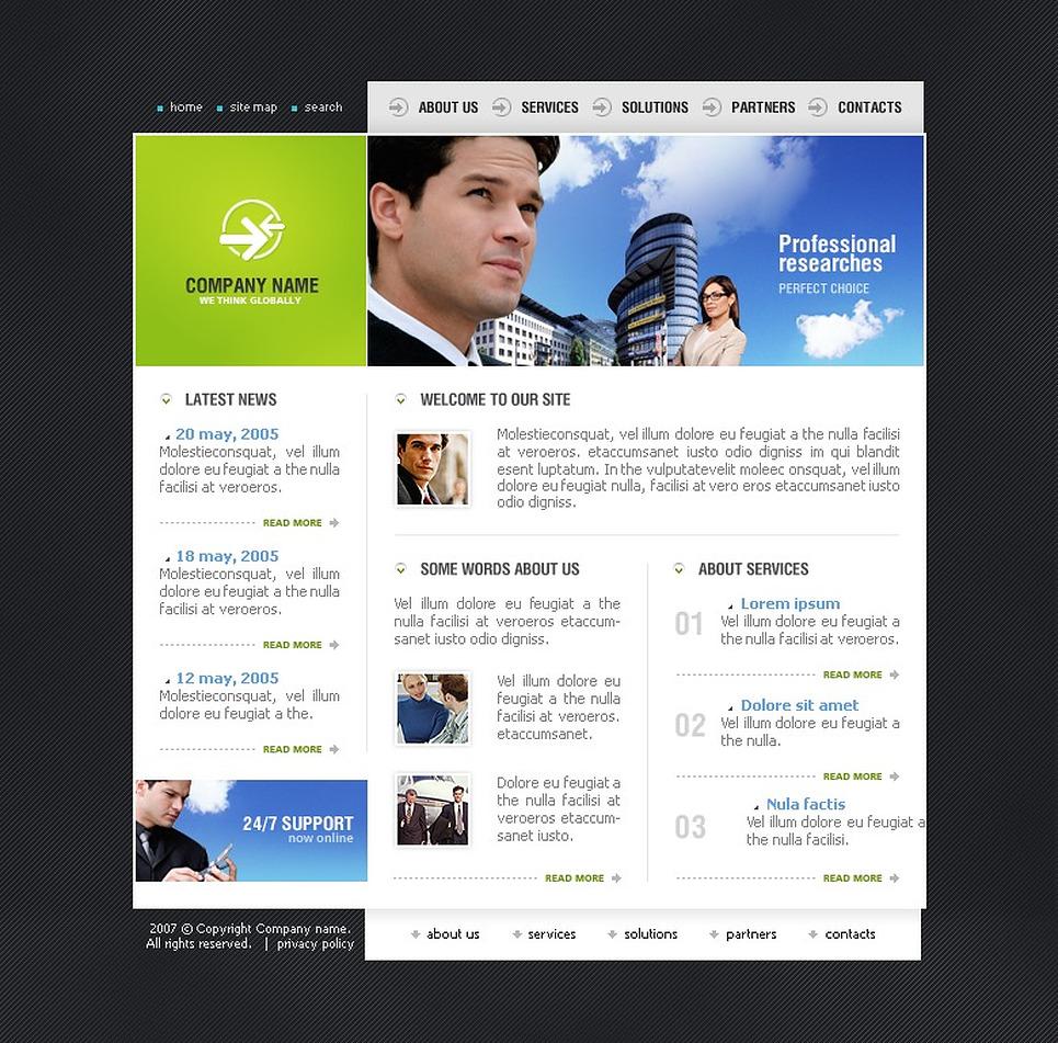 Consulting SWiSH Template New Screenshots BIG