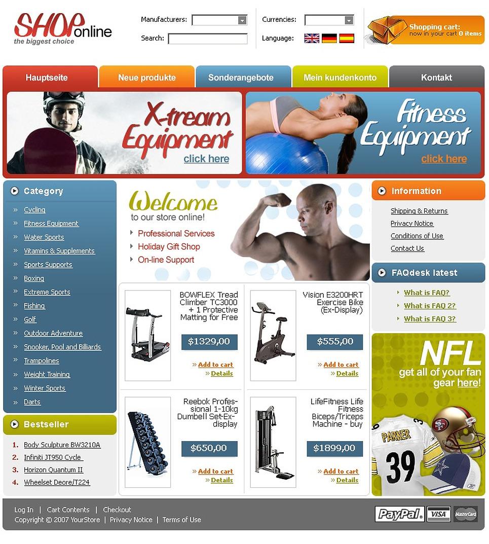 Дизайн для интернет магазина цена