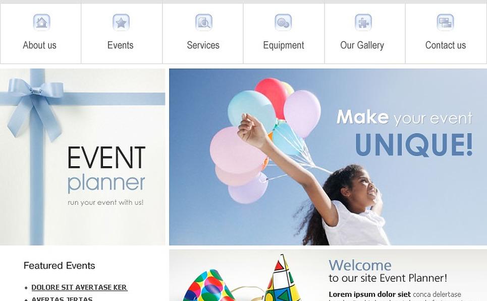 Event Planner Website Template New Screenshots BIG