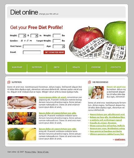 Подбор диеты онлайн бесплатно