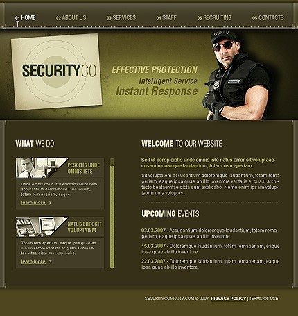 Website Template #14967