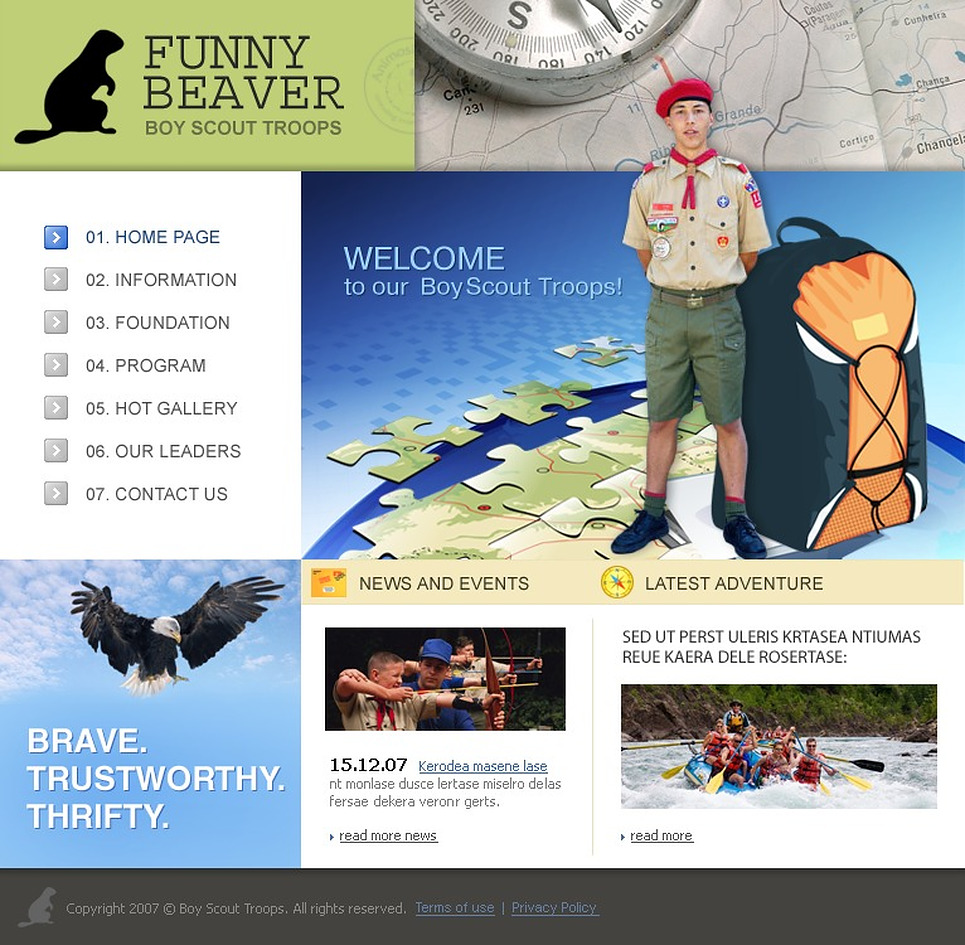 Boy Scout Powerpoint Template
