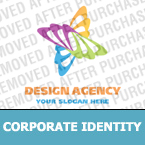 Corporate identity template #15153 by Logann