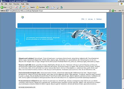 Website Template #15312