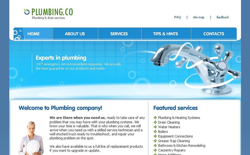 Plumbing SWiSH Template New Screenshots BIG