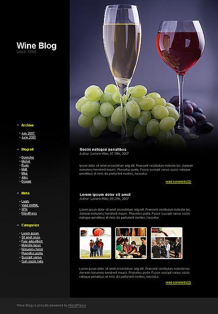 """Заказ сайта по типу  """"Сайт визитка """" на темы  """"Еда и напитки, Онлайн..."""