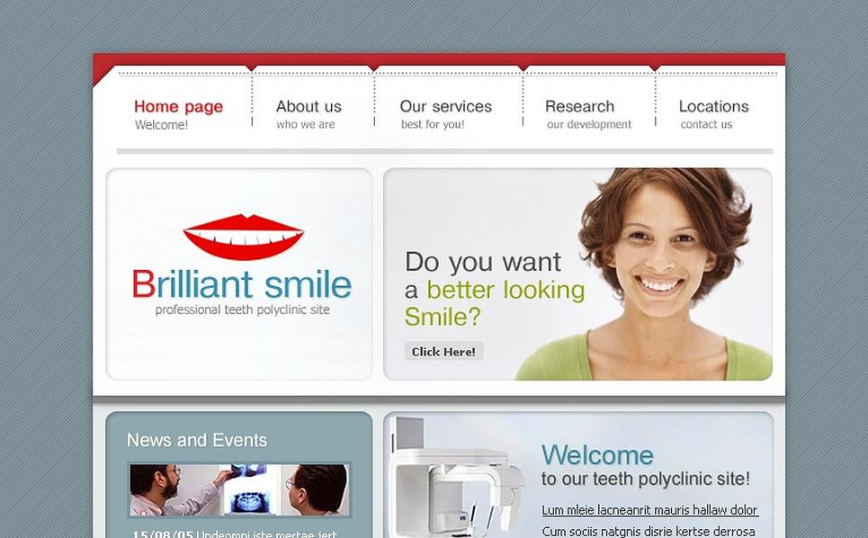 Dentistry SWiSH Template New Screenshots BIG