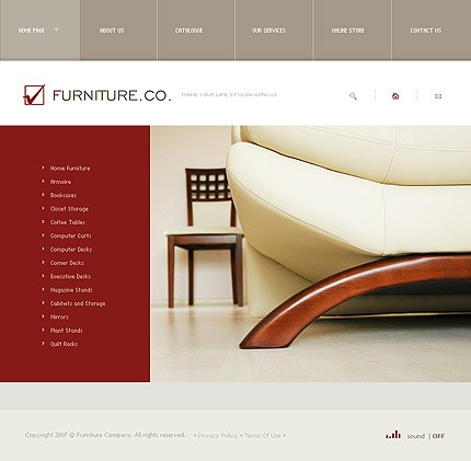 Website Template #15456
