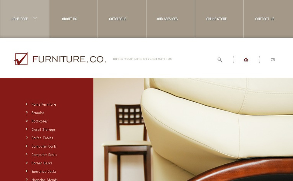 Furniture Flash Template New Screenshots BIG